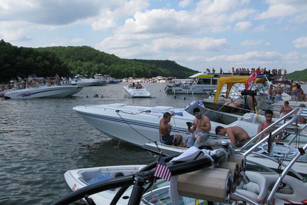 Lake ozarks party cove
